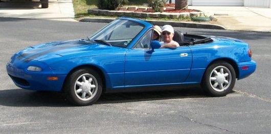 1992 mazda miata - rick and lorraine's little florida car!